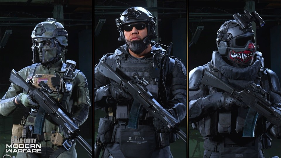 Die neuen CoD Season 5 Operator: Roze, Lerch und Velikan.